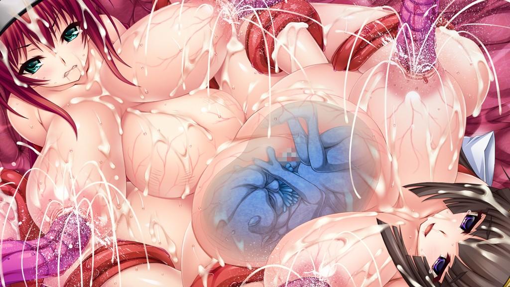 二次元,HCG,エロ画像,淫妖蟲 零 ~凌触城退魔絵巻~ 結衣編,TinkerBell,あおじる