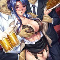 八津紫(対魔忍シリーズ)のエロ画像